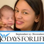 Come Celebrate Life- with a Pot Luck with Friends & Family-CLOSING 40 DAYS FOR LIFE EVENT