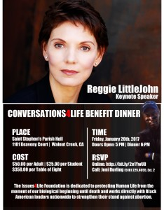 Conversations 4 Life Benefit Dinner Friday January 0, 2017 5:00PM to 9:00PM @ ST. STEPHEN'S CHURCH | Walnut Creek | California | United States