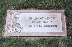 Saturday, September 9: National Day of Remembrance for Aborted Children @ Napa | California | United States