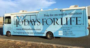 40 Days for Life Bus visits SANTA ROSA... @ PP-SANTA ROSA | Santa Rosa | California | United States