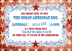 2nd Annual Great American BBQ-July 1, 2017